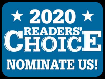 Reader's Choice 2020!