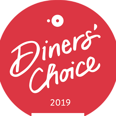 OpenTable Diner's Choice Winner 2019!