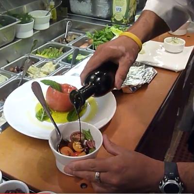 Chef de Cuisine Manuel Ojeda: Mediterranean Salad