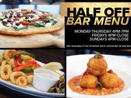 Half Off Bar Menu!