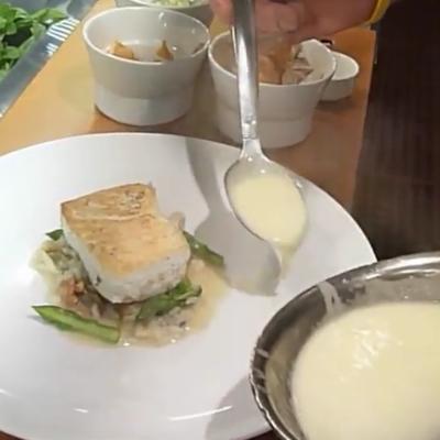 Chef de Cuisine Manuel Ojeda: Sea Bass