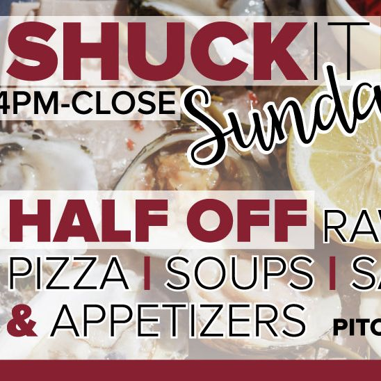 Shuck it Sundays